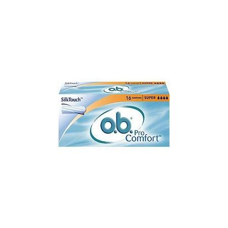 O.B. - procomfort - 16 assorbenti interni super per flussi intensi