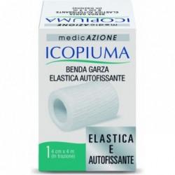 icopiuma - benda garza elastica autofissante 4cm x 4m