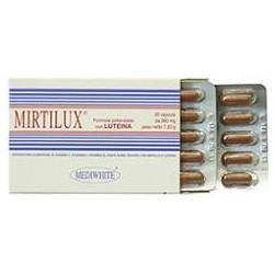 Mirtilux Integratore Alimentare Anti Invecchiamento, Antiossidante 20 Capsule