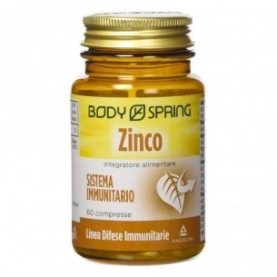 Zinco 60 Compresse - Integratore di Vitamine