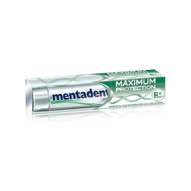 Mentadent - maximum protection - dentifricio antibatterico 75 ml