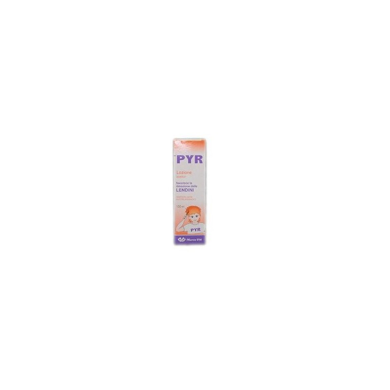 MARCO VITI - Spray Per Pidocchi Lozione Acetica Antiprurito Pyr 100 Ml