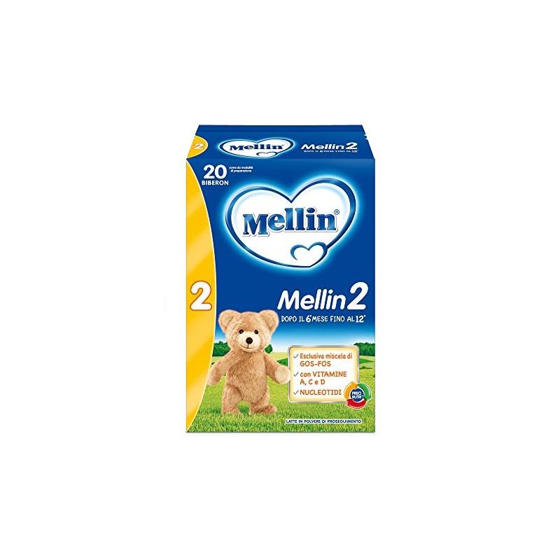MELLIN - 2 - Latte in Polvere di Proseguimento (6-12 mesi ) 1200 g