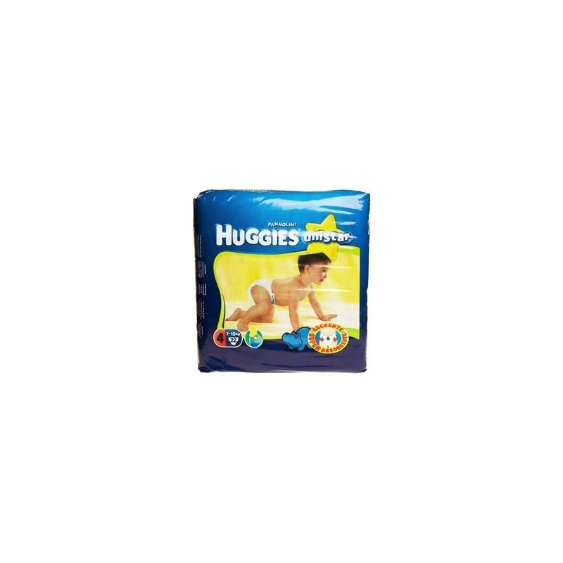HUGGIES - unistar maxi - 22 pannolini da 7 a 18 kg