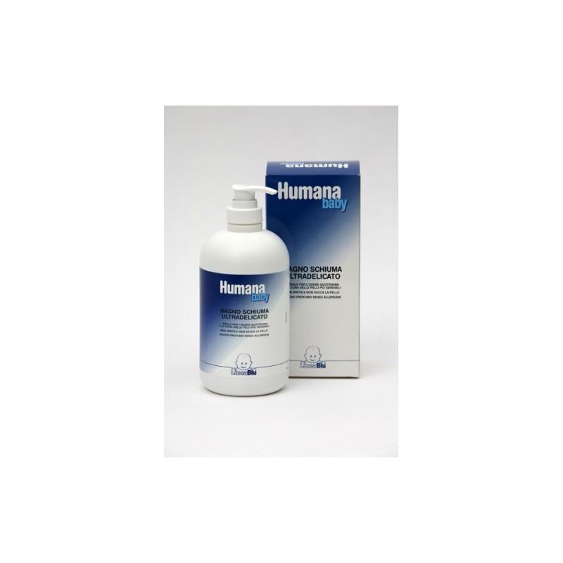 HUMANA - lineablu Baby - bagnoschiuma ultra delicato 500 ml