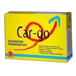 Car-Go 20 Bustine - Integratore Tonico Energetico A Base Di Amminoacidi E Vitamine