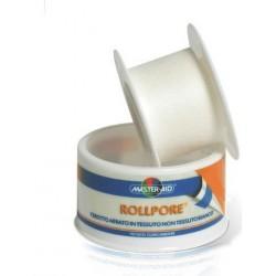 Master Aid Rollpore - cerotto tessuto non tessuto 1,25X5cm