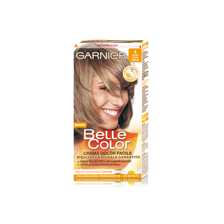 GARNIER - Tinta Per Capelli Colore Permanente Belle Color 4 Biondo Cenere 5538ee37f60f