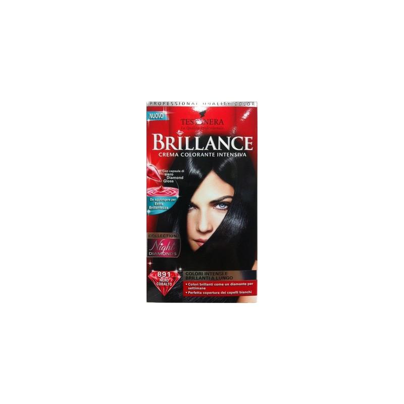 Testanera - Brillance - Crema colorante intensiva N.891 nero cobalto