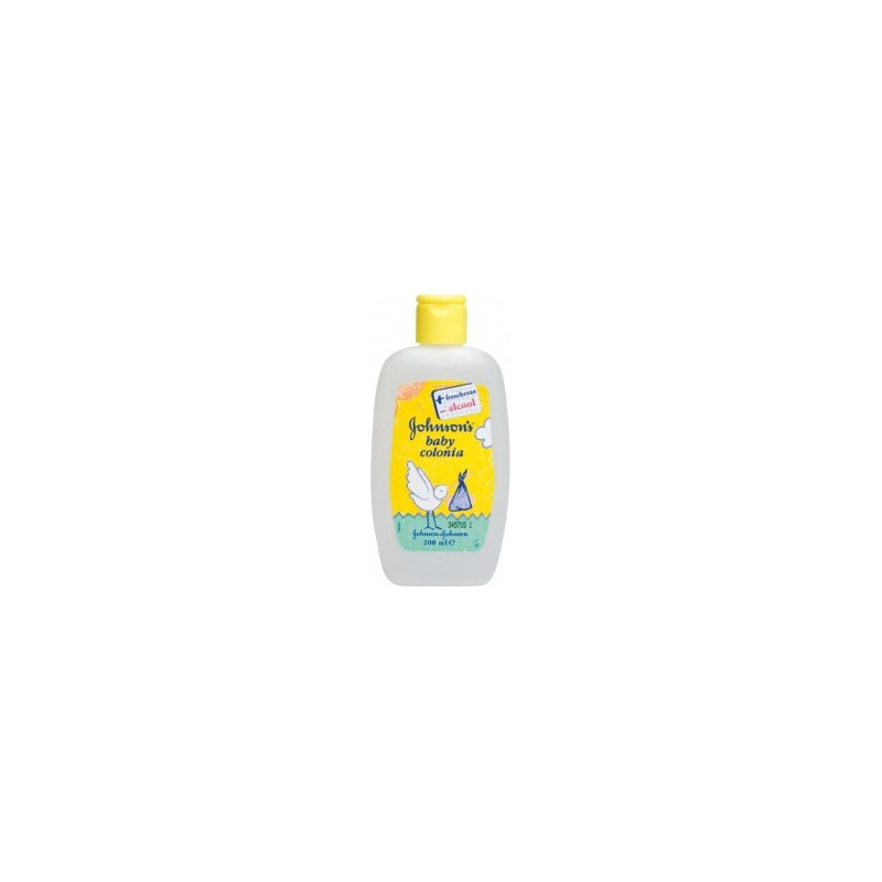Johnson & Johnson - acqua di colonia per bambino baby 200 ml