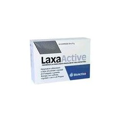 Integratore Alimentare Per Il Transito Intestinale, Stipsi  Laxa Active  24 Compresse