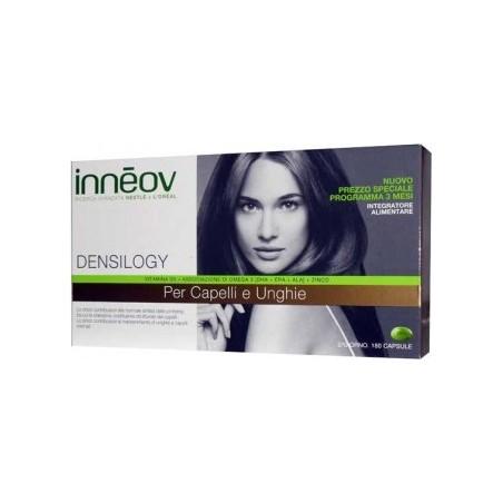 integratore alimentare per unghie e capelli inneov densilogy cofanetto 3 mesi 180 capsule