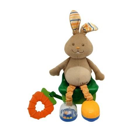 Chicco - Giocattolo Coniglietto Musica E Passeggio 71170