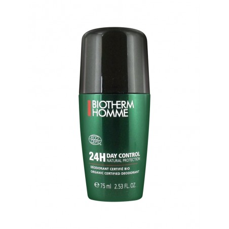 BIOTHERM - homme day control natural protection - deodorante roll-on senza sali d'alluminio 75 ml