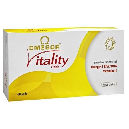 OMEGOR - Integratore Alimentare Per Il Controllo Dei Trigliceridi Vitality 1000 60 Perle