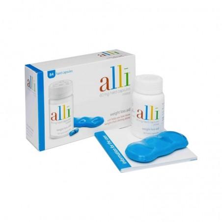 GSK - Alli 60 mg - coadiuvante per la perdita di peso 84 capsule