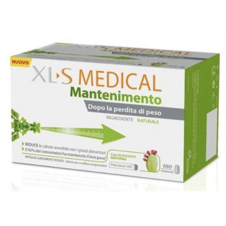 XL-S - Medical Mantenimento - Integratore per il controllo del peso corporeo 180 compresse