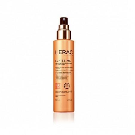LIERAC - sunissime Latte solare Protettivo Energizzante corpo spf 15 flacone 150 ml