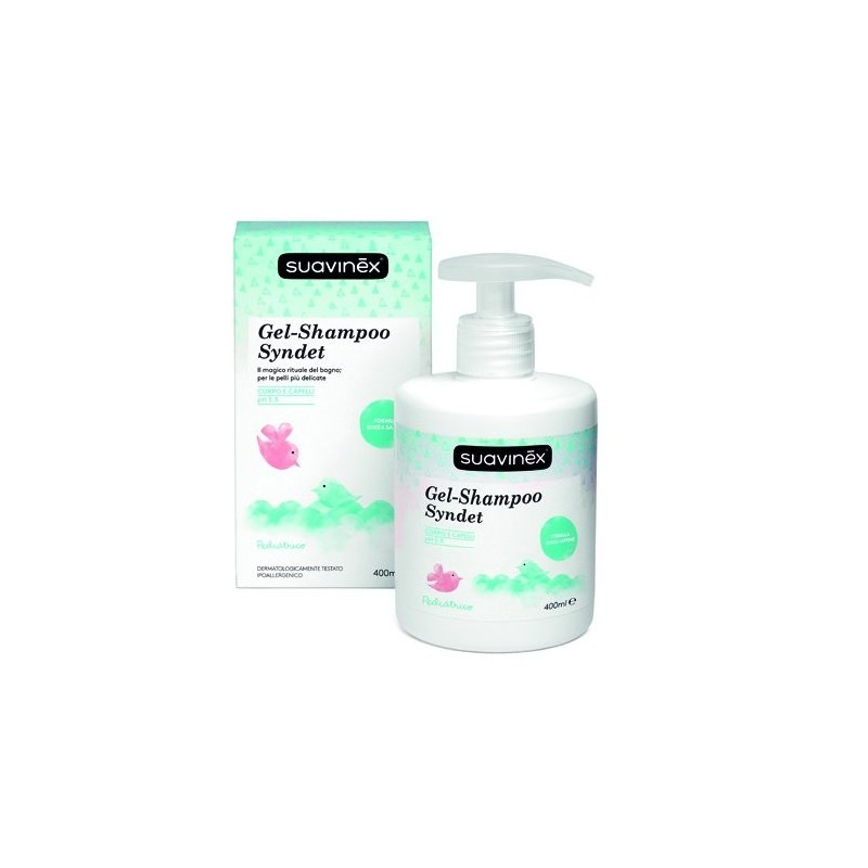 SUAVINEX - syndet corpo e capelli - Gel Shampoo senza sapone 400 ml