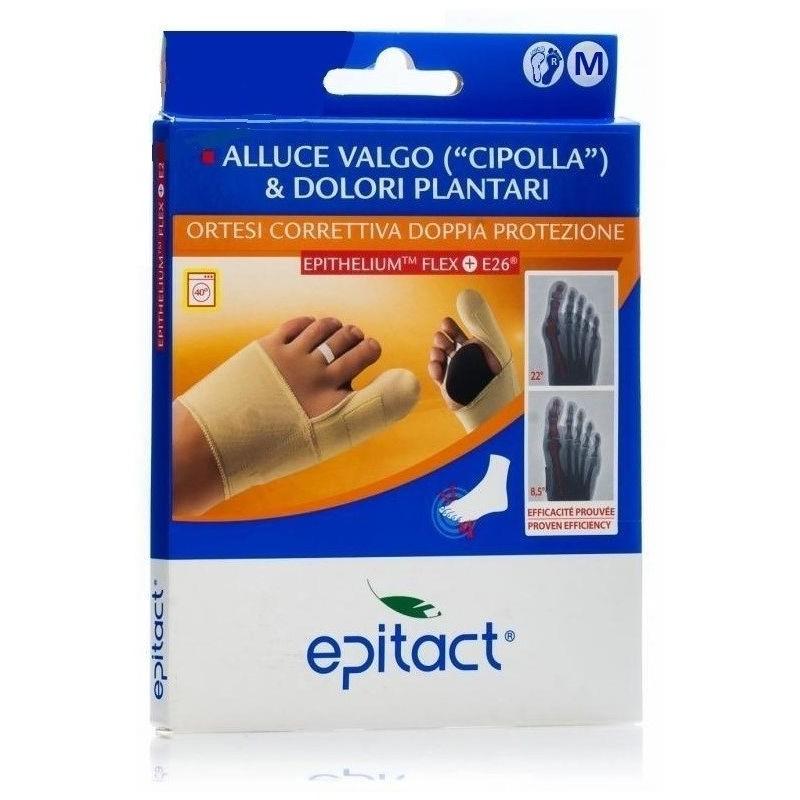 EPITACT - ortesi correttiva alluce valgo doppia protezione - taglia m piede destro