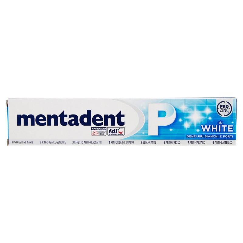 dentifricio sbiancante prevenzione completa p white 75 ml