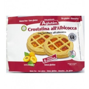 Crostatina all'albicocca 180 gr