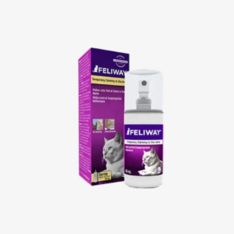 CEVA SALUTE ANIMALE - Feliway Spray per gatti 60 ml