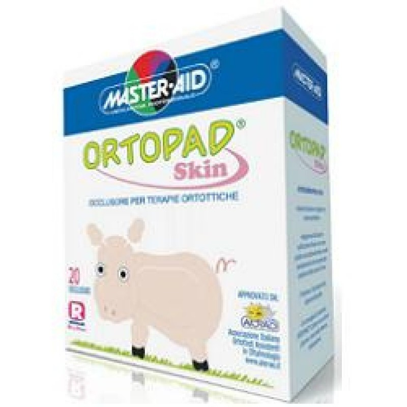ORTOPAD - Occlusore Autoadesivo Ortopad Skin Per Terapie Ortottiche Colore Rosa Pelle Junior 20 Pezzi