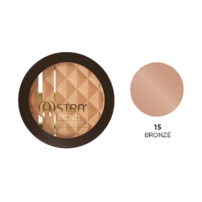 ASTRA - Bronze skin powder - terra abbronzante n.15 bronze