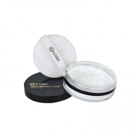 ASTRA - Velvet skin loose - cipria trasparente n.01 polvere di riso