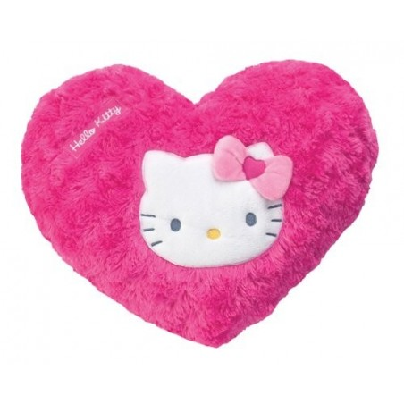 HELLO KITTY - Cuscino a forma di cuore modelli assortiti