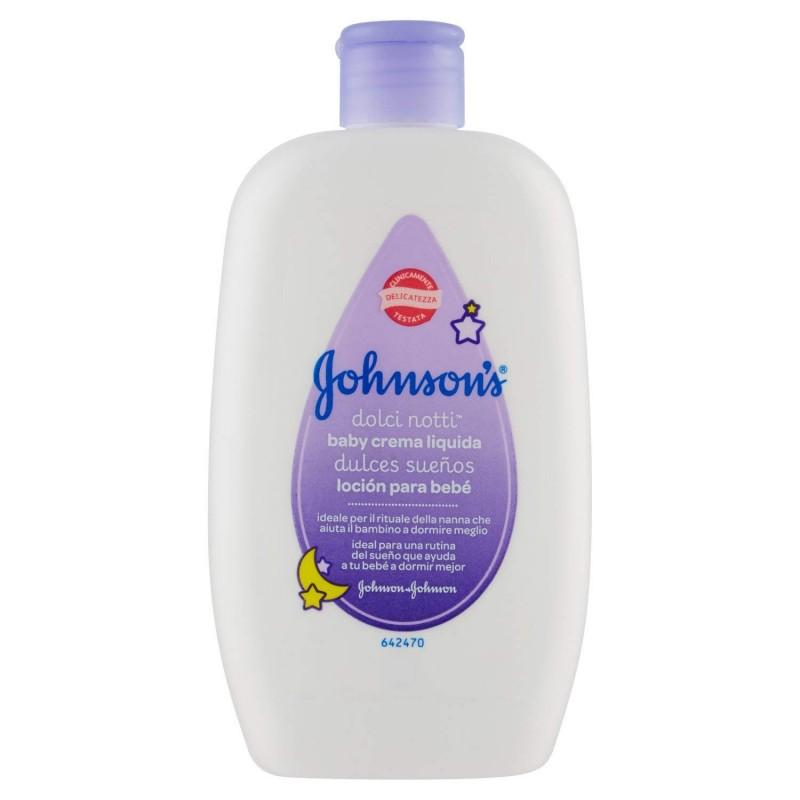 Johnson & Johnson - Crema Per Bambini Utile Per Conciliare Il Sonno Baby Dolci Notti 300 Ml