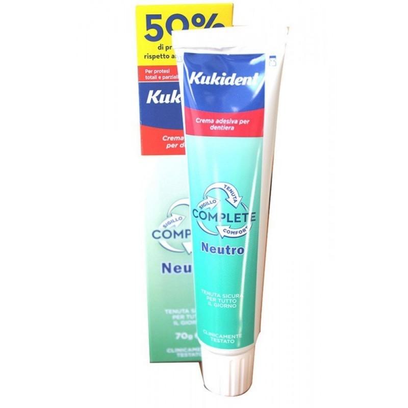 KUKIDENT - Complete Crema Adesiva Per Protesi Dentali E Dentiere 70 G