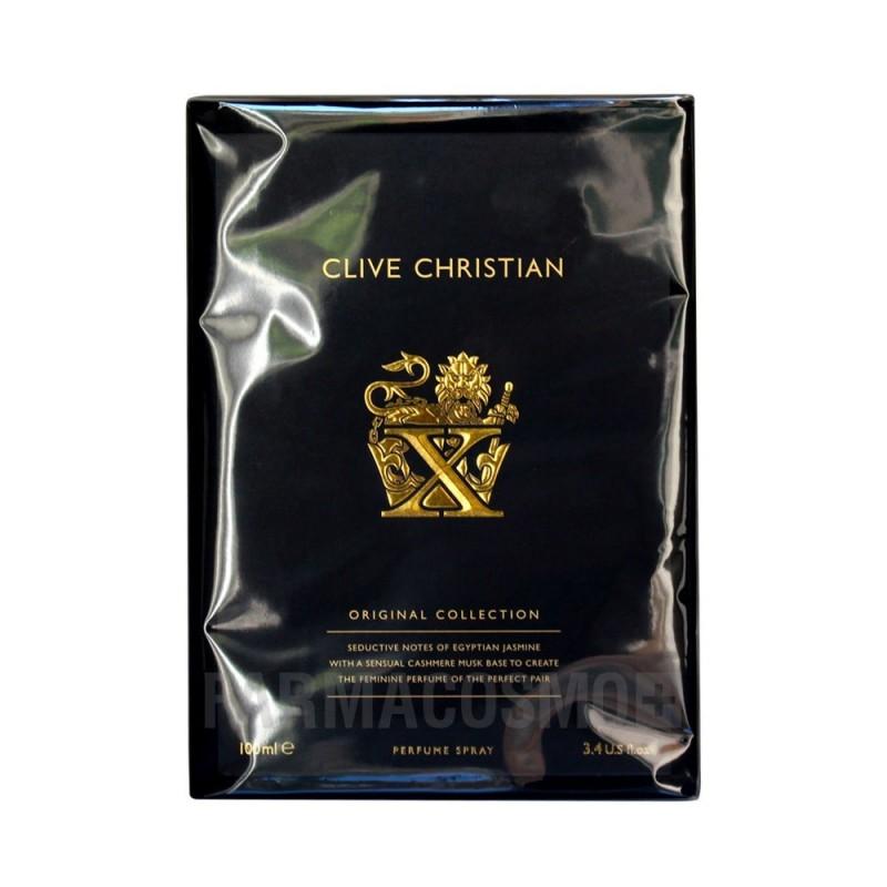 CLIVE CHRISTIAN - X for women eau de parfum donna 100 ml vapo
