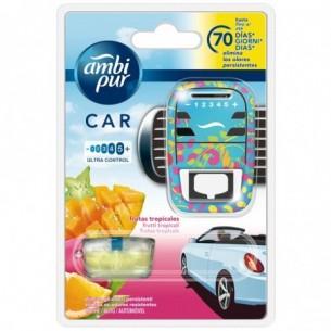 Car deodorante per auto Diffusore + Ricarica Frutti Tropicali 7 ml