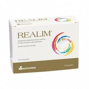 Realim - integratore per colesterolo e riduzione del peso corporeo 20 bustine