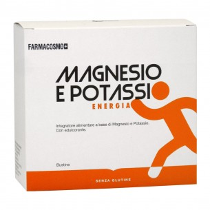 Magnesio e Potassio - Integratore alimentare - 20 bustine
