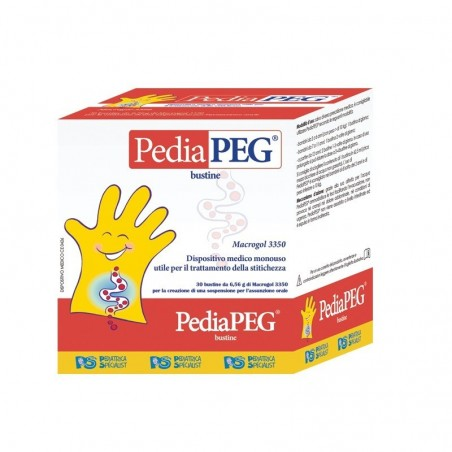PEDIATRICA SPECIALIST - PediaPEG - Integratore alimentare contro la stitichezza 30 bustine