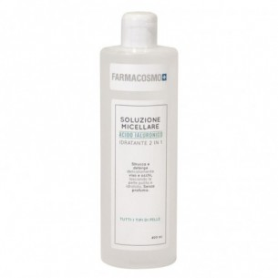 Soluzione Micellare Idratante 2in1 struccante e detergente 400 ml