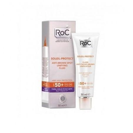 ROC - soleil protect spf 50+-Crema Viso Solare Anti- macchie brune 50 ml