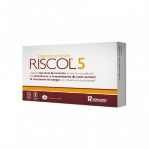 Riscol 5 30 compresse - Integratore alimentare per il colesterolo