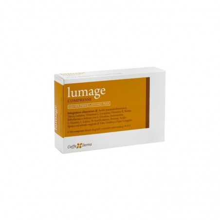Cieffe Derma - Lumage - integratore alimentare per prevenire i danni fotoindotti 40 compresse