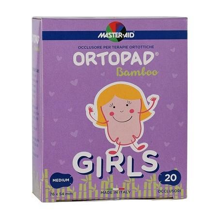 ORTOPAD - occlusore autoadesivo per terapie ortottiche girls m 20 bende