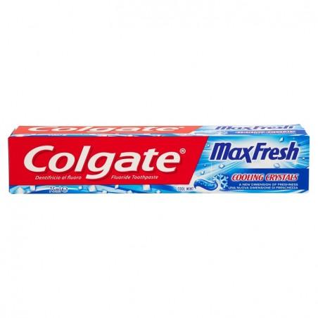 dentifricio max fresh al fluoro con menta glaciale 75ml