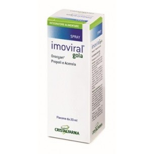 Imoviral Gola 20 ml - integratore alimentare per il benessere della gola