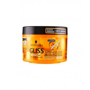 gliss Hair repair supreme oil elixir maschera ristrutturante 200 ml
