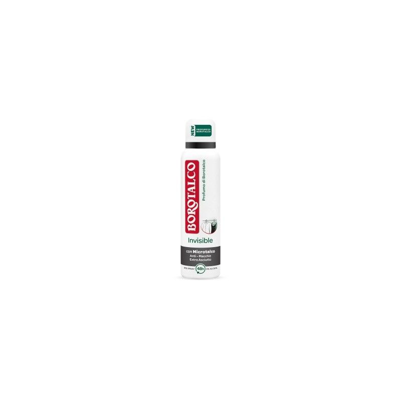 BOROTALCO - Deodorante Invisible  Spray  antimacchie  150 ml