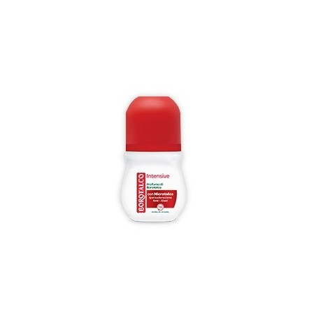 BOROTALCO - Deodorante  intensive - Roll-on 50 ml