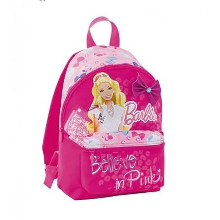 MATTEL - Barbie - zaino asilo colore rosa 28 cm