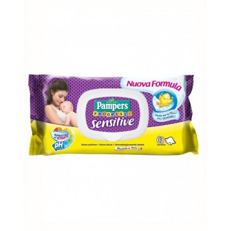Pampers - progressi sensitive - salviettine pelli sensibili 63 salviette